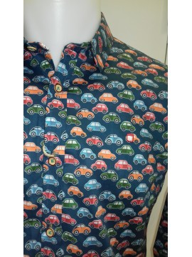 CAMISA YELOW SKIN COCHES
